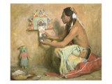 Hopi Kachina, 1929 Giclee Print by Eanger Irving Couse