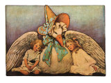 Mother Goose, 1914 Giclee Print by Jessie Willcox Smith