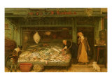 A Fishmonger's Shop, 1872 Giclee Print by Frederick Walker