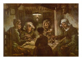 The Potato Eaters, 1885 Giclee Print by Vincent van Gogh