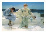 Ask Me No More, 1906 Giclee Print by Sir Lawrence Alma-Tadema