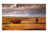 Buffalo Bones Plowed Under, 1930 Giclee Print by Harvey Dunn