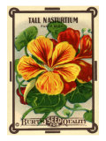 Floral Seed Packet Giclee Print