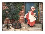 Little Miss Muffet, 1914 Giclee Print by Jessie Willcox-Smith