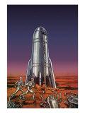 Sci Fi - Martian Aliens, 1938 Giclee Print