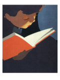 Boy Reading, 1925 Giclee Print
