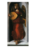 Angel with a Lute Giclee Print by  Leonardo da Vinci