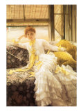 July (Speciment of a Portrait), 1878 Giclee Print by James Tissot