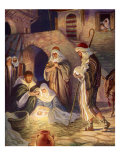 Nativity Scene Giclee Print by Milo Winter