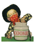 Outlaw Raids Cookie Jar, 1952 Giclee Print
