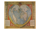 Map of 1536 Giclee Print