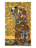 Fulfillment, One of the Kiss Panels, 1909 Giclee Print by Gustav Klimt