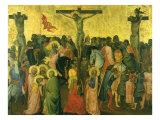 Crucifixion, 1390 Giclee Print by Agnolo Gaddi