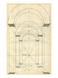 Angles of a Room, 1751 Giclee Print by Henricus Hondius