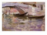 Gondolas, 1899 Giclee Print by John Singer Sargent