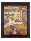 Circus Performers, 1891 Giclee Print by Georges Seurat