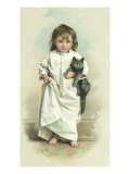Girl with Cat, 1894 Giclee Print by Maud Humphrey