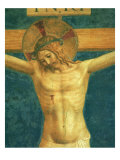 Saint Dominic with the Crucifix Giclee Print by  Fra Angelico