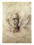 Fury, 1510 Giclee Print by  Michelangelo Buonarroti