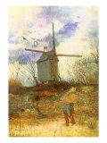 The Windmill, 1886 Giclee Print by Vincent van Gogh