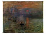Impression: Sunrise 1873 Giclee Print by Claude Monet