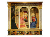 Annunciation, 1425 Giclee Print by  Fra Angelico