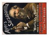 Sarsaparilla Ad, 1895 Giclee Print