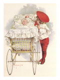First Outing, 1898 Giclee Print by Maud Humphrey