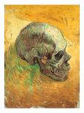 Vincent van Gogh - Skull in Profile, 1887 Digitálně vytištěná reprodukce