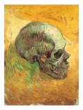 Skull in Profile, 1887 Giclee Print by Vincent van Gogh