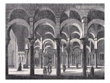 Arab Mosque in Cordoba, Spain Giclee Print