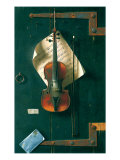 The Old Violin, 1886 Giclee Print