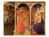The Annunciation, 1400 Giclee Print by  Fra Angelico