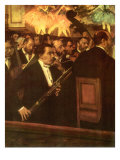 The Orchestra of the Opera, 1868 Giclee Print by Edgar Degas