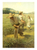 The Scythers, 1908 Giclee Print by Newell Convers Wyeth