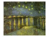 Starry Night on Rhône, 1888 Giclee Print by Vincent van Gogh