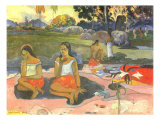 Nave Nave Moe (Delightful Drowsiness), 1894 Giclee Print by Paul Gauguin