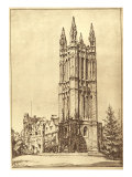 Cathedral at Princeton University, 1930 Giclee Print