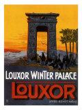 Louxor Winter Palace Giclee Print