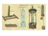 Hydraulics Explained Giclee Print