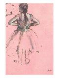 Ballerina, 1876 Giclee Print by Edgar Degas