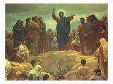 Sermon on the Mount, 1965 Giclee Print