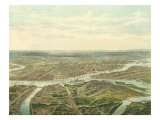 View of Saint Petersburg, 1870 Giclee Print