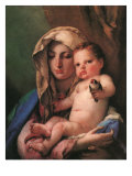 Madonna of the Goldfinch, 1750 Giclee Print