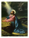 Christ in Gethsemane Giclee Print
