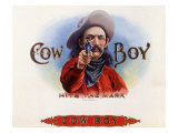 Cowboy Giclee Print
