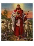 Jesus the Shepherd, 1943 Giclee Print