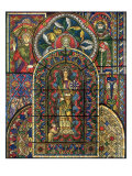 Stained Glass Window Giclee Print