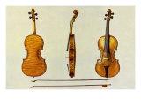 Hellier Stradivarius, 1888 Giclee Print by William Gibb
