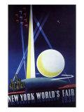 New York World's Fair, 1939 Giclee Print